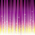 Sparkling stars with purple magenta stripe Royalty Free Stock Image
