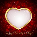 Sparkling valentines background Royalty Free Stock Photos