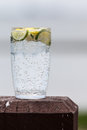 Sparkling water Royalty Free Stock Photo