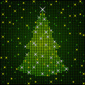 Sparkling Xmas Tree Stock Photos