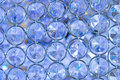 Sparkly blue sequins background pattern texture Royalty Free Stock Image