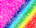 Sparkly Colorful Background Stock Photography