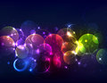 Sparkly de-focused background Royalty Free Stock Images