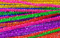 Sparkly pipe cleaners Royalty Free Stock Photo