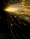 Sparks Royalty Free Stock Photo