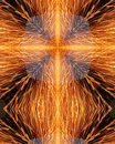 Sparks from welder's grinder5 Royalty Free Stock Images