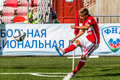 Spartak moscow youth ufa youth game moments Stock Photo