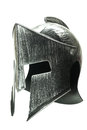 Spartan helmet isolated on white background 1