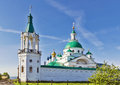 Spaso yakovlevsky monastery rostov dimitrievsky cathedral in in russia Royalty Free Stock Photo