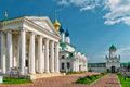 Spaso-Yakovlevsky Monastery in Rostov the Great, Russia Royalty Free Stock Photo