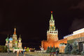 Spasskaya tower of Kremlin Stock Photography