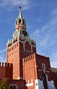 Spasskaya tower of Moscow Kremlin Stock Images
