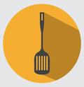 Spatula icon flat style for your design Royalty Free Stock Photo