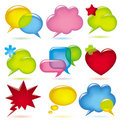 Speak bubbles Royalty Free Stock Photography
