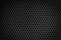 Speaker grid texture black iron Stock Photo