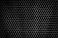 Speaker grid texture black iron Stock Photo