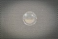 Speaker grid texture industrial background Royalty Free Stock Photos