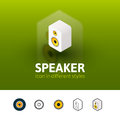 Speaker icon in different style