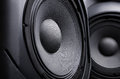 Speaker. Music. Royalty Free Stock Photo