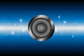 Speaker sound wave background Royalty Free Stock Photo