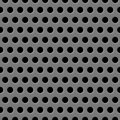 Speaker texture vector grill seamless gray background Royalty Free Stock Photo