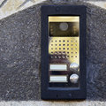 Speakerphone del Su-portello Fotografia Stock