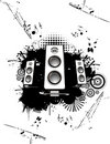 Speakers vector Royalty Free Stock Photo
