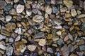 Random assortment of river stones