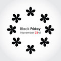 Special black friday background Royalty Free Stock Photography