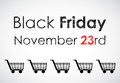 Special black friday banner Stock Images