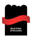 Special black friday flyer for your business Stock Images