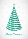 Special Christmas tree design Royalty Free Stock Photography