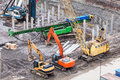 Special construction machinery Royalty Free Stock Photos