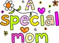 Special de maman Photos stock