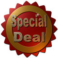 Special Deal (Seal) Royalty Free Stock Photo