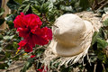 Special Display Of Straw Hats Royalty Free Stock Photo