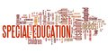 Special education Royalty Free Stock Photo