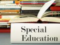 Special educational needs the textbook on Stock Image