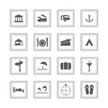 Special flat ui icons for web and mobile applications Stock Photos