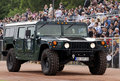 Special forces combat vehicle on parade-2 Stock Image