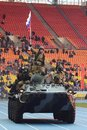Special forces demonstrate training at stadium moscow russia october purpose units of the army and police are designed for events Stock Photo