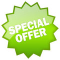 Special offer Royalty Free Stock Images