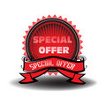 Special offer badge Stock Photos