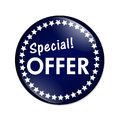 Special Offer Button Royalty Free Stock Photo