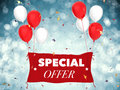 Special offer concept Royalty Free Stock Photo