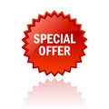 Special offer icon Royalty Free Stock Photo