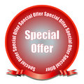 Special Offer Seal Stock Photo