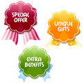 Special offer tags Stock Photography