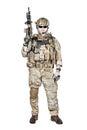 Special warfare operator Royalty Free Stock Photo