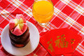 Specialteller nian gao chinese new year Lizenzfreie Stockfotos